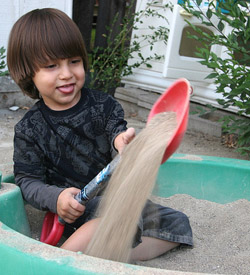 Build a DIY sandbox