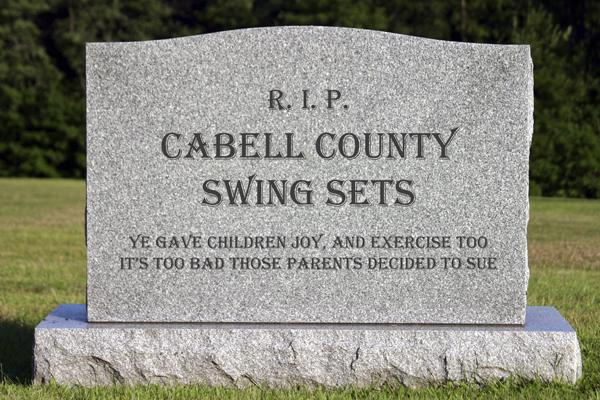 Cabell County swing sets