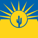 Flag for Mesa, Arizona