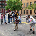 Play street in New York City