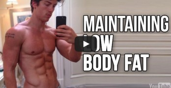 strategies to maintain a low body fat