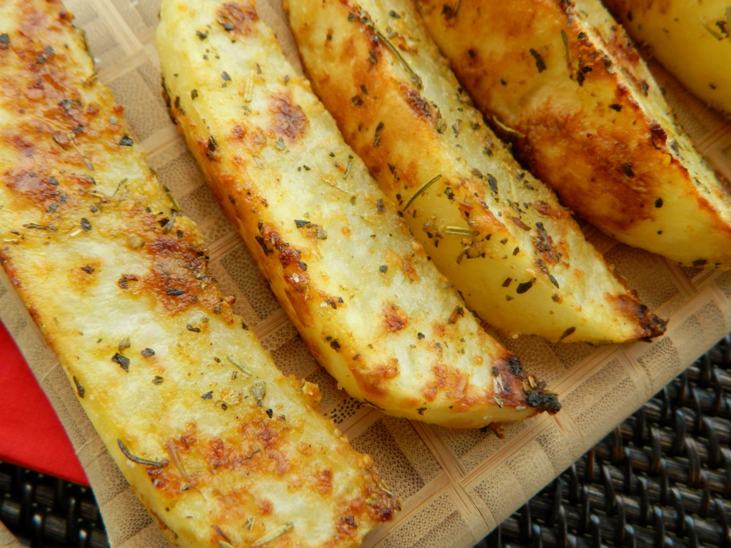 Kino Meals: Parmesan Garlic Potato Wedges