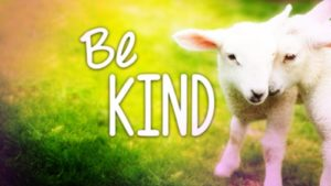 Talk About It: Be Kind