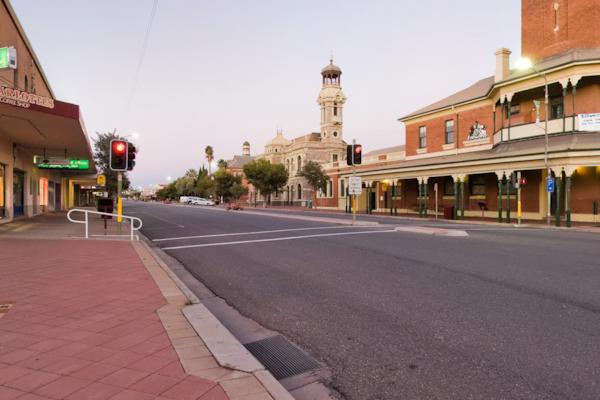 Broken Hill, Town Square