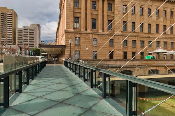 Glass Footbridge
