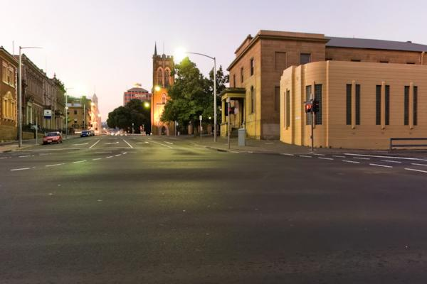 Cnr Davey St & Murray St