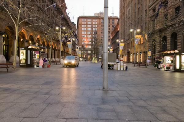Martin Place & Pitt St