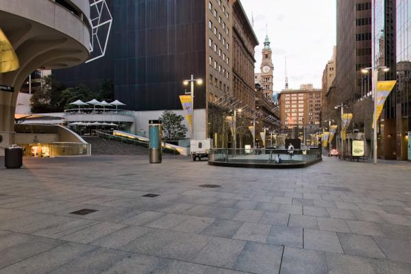Martin Place & Castlereagh St