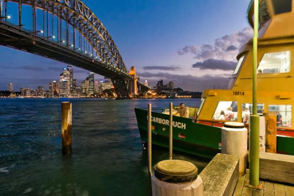 Milsons Point Ferry