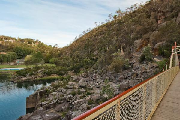 Cataract Gorge Bridge