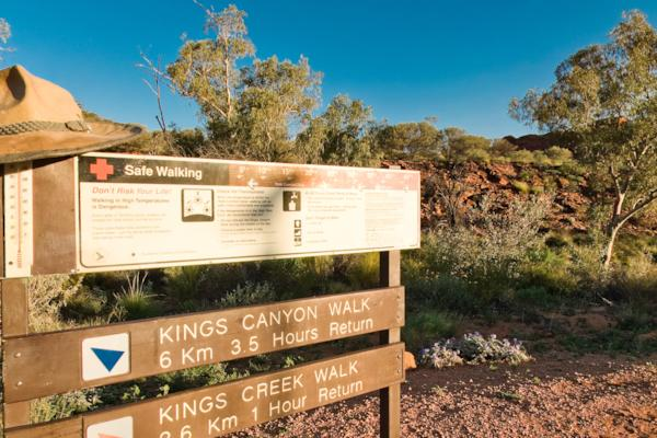 Kings Canyon Creek Walk