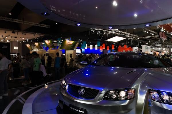 Holden stand, Melbourne Motor Show