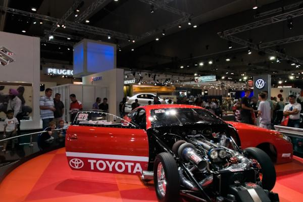 Toyota stand, Melbourne Motor Show