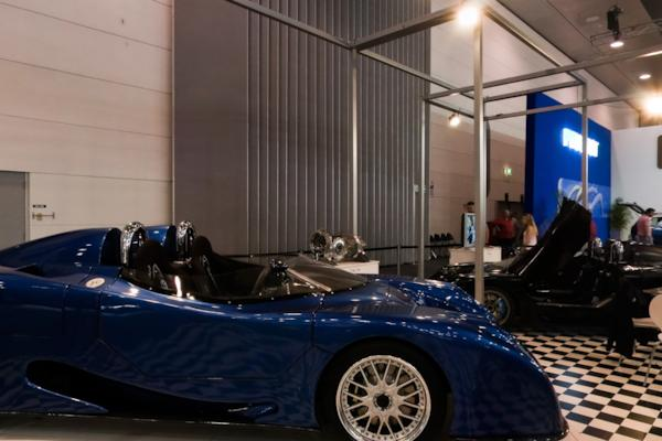 Evade stand, Melbourne Motor Show