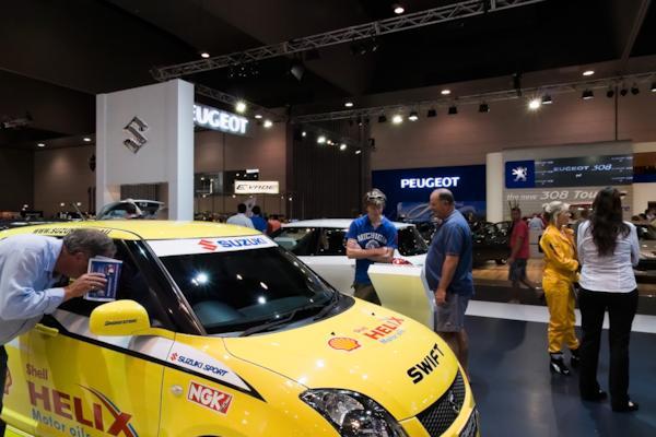 Suzuki stand, Melbourne Motor Show