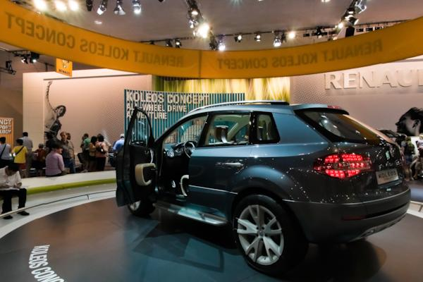 Renault stand, Melbourne Motor Show