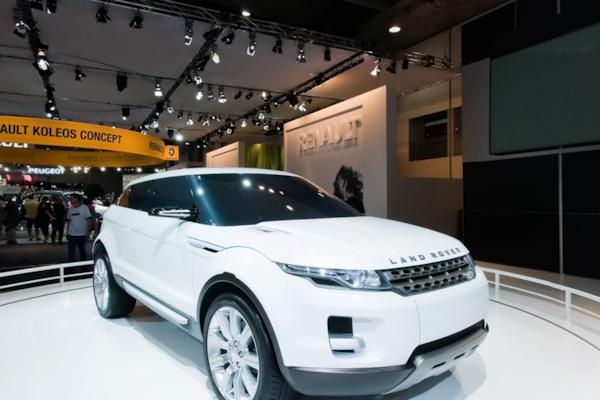 Land Rover stand, Melbourne Motor Show