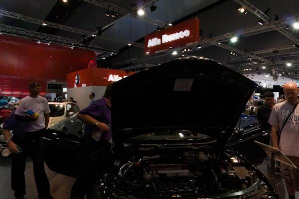 Alfa Romeo stand, Melbourne Motor Show
