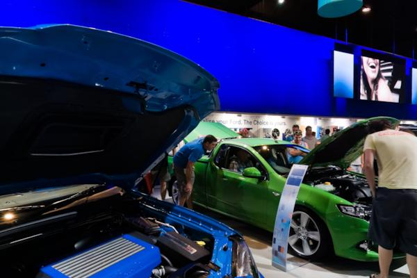 Ford stand, Melbourne Motor Show