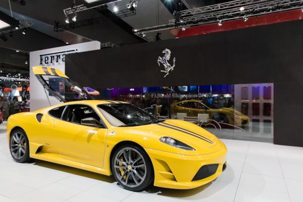 Lamborghini stand, Melbourne Motor Show