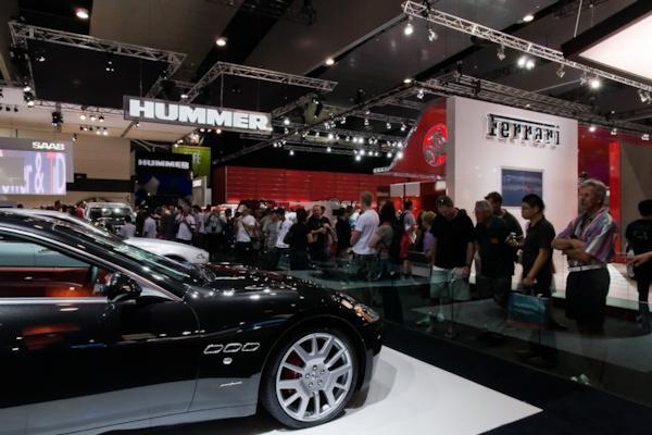 Maserati stand, Melbourne Motor Show