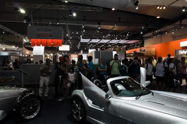 Elfin stand, Melbourne Motor Show