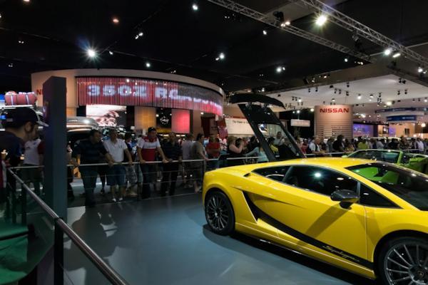 Ferrari stand, Melbourne Motor Show