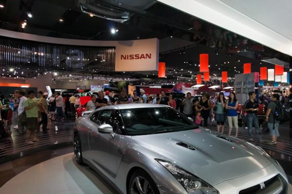 Nissan stand, Melbourne Motor Show