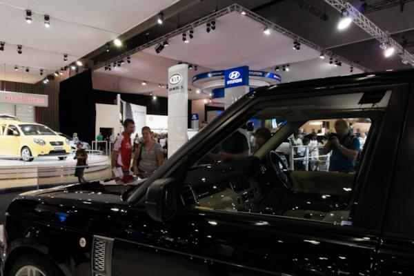 Overfinch stand, Melbourne Motor Show