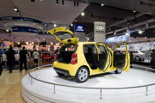 Kia stand, Melbourne Motor Show