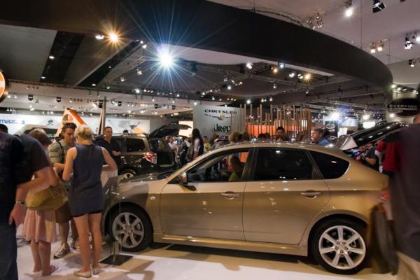 Subaru stand, Melbourne Motor Show