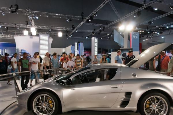 Bolwell stand, Melbourne Motor Show