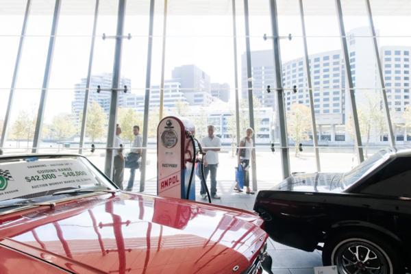 Foyer, Melbourne Motor Show