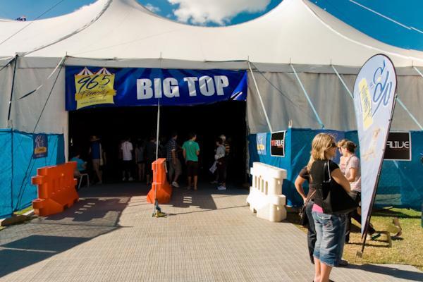 Big Top, Easterfest