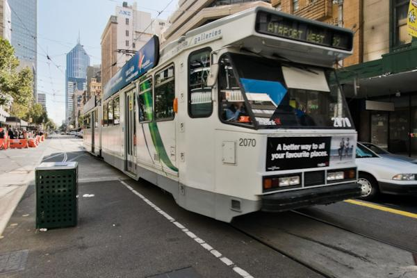 Elizabeth st tram terminus