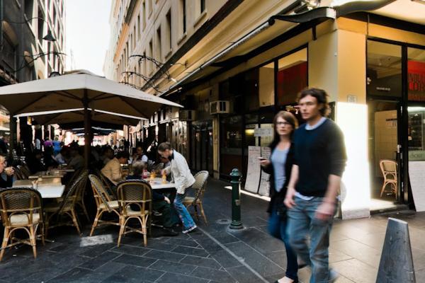 Flinders Lane & Degraves St
