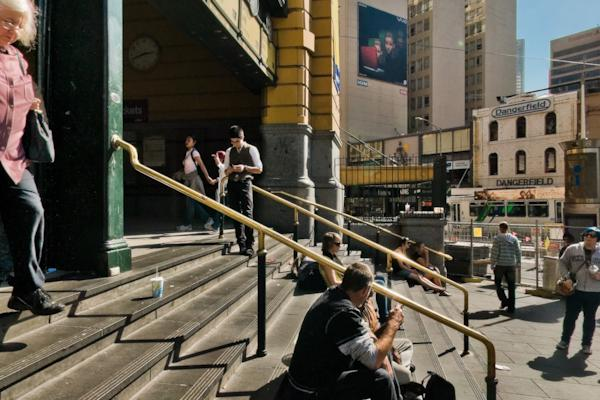 Flinders Street Station steps