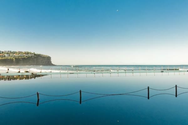 Bilgola Beach Rock Pool
