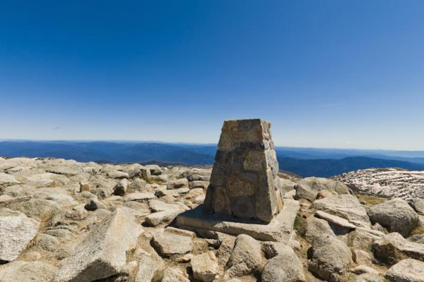 Mt Kosciuszko - The Top
