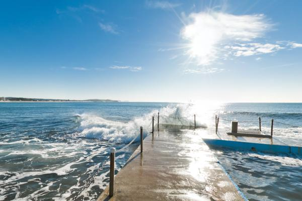 Collaroy Beach Rock Pool