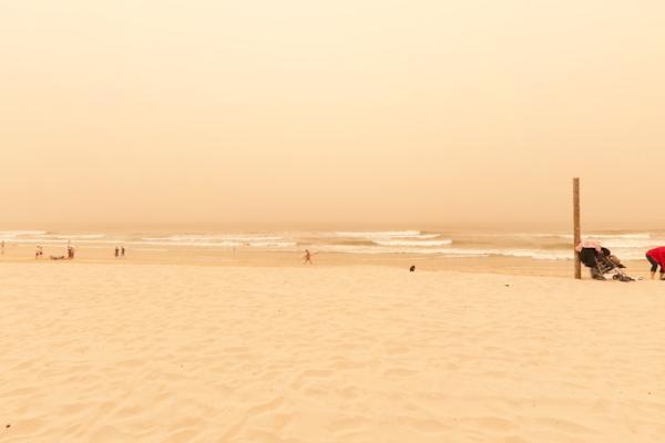 Surfers Paradise Dust Storm