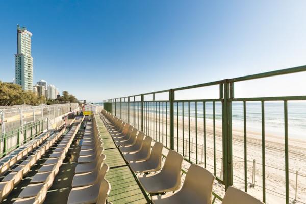 Beach Grandstand