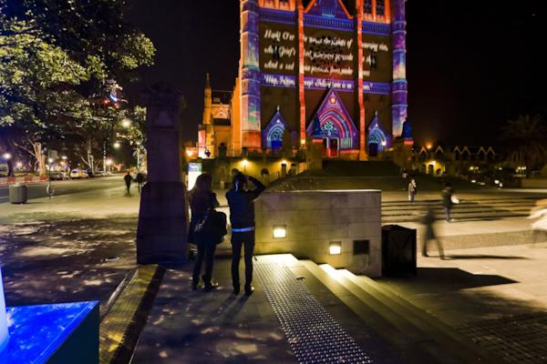 Vivid Sydney - St Mary's Cathedral