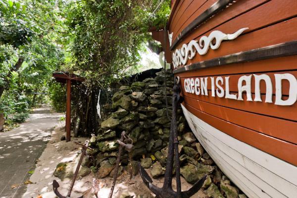 Green Island Attraction