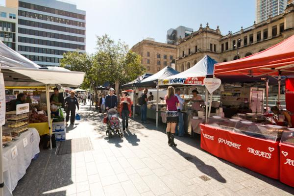 Queen St Mall Markets