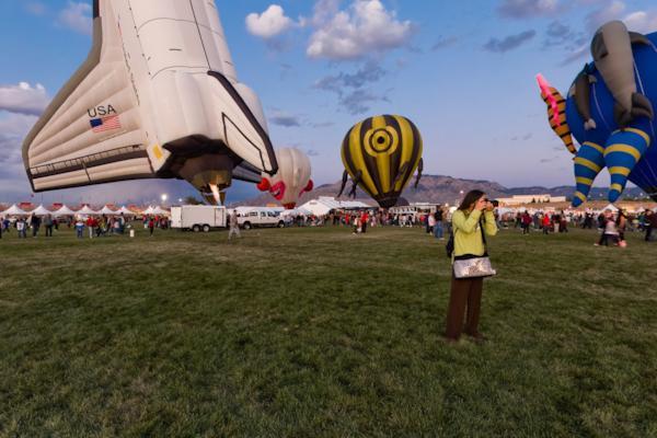 Space Shuttle Ballon