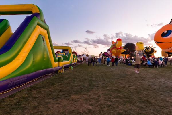 Ballon Fiesta - Rides