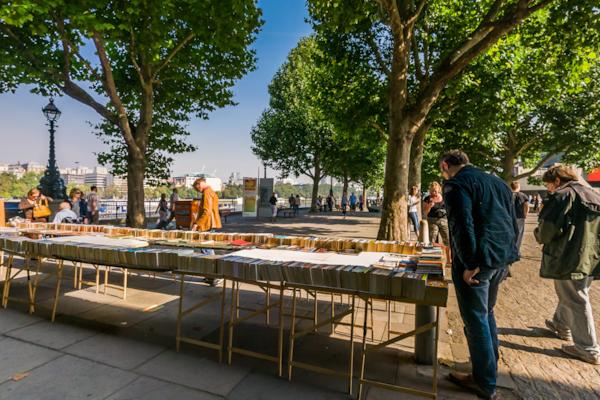 Book stalls, Waterloo Bridge
