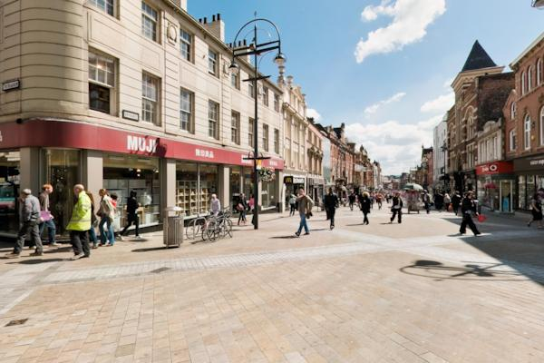 The Headrow and Briggate