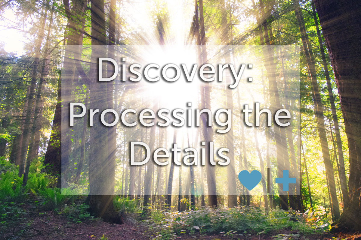 discovery processing after affair
